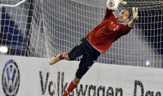FCBayern:Warmspielen für ManUnited - Starke im Tor (Foto)