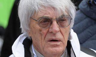 Ecclestone drosselt seinen Ärger über F1-Sound (Foto)