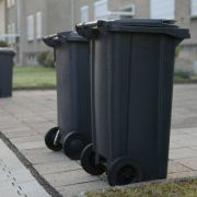 Hightech-Tonnen bringen Müll selbstständig weg (Foto)