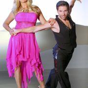 Carmen Geiss will es mit Tanzpartner Christian Polanc bei «Let's Dance» 2014 möglichst weit bringen.