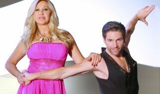 Carmen Geiss will es mit Tanzpartner Christian Polanc bei «Let's Dance» 2014 möglichst weit bringen. (Foto)