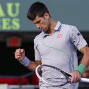 Djokovic kampflos im Tennis-Finale von Miami (Foto)