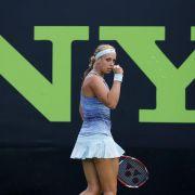 Lisicki erreicht mit Hingis Doppel-Finale von Miami (Foto)