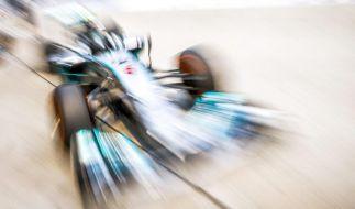 Rosberg Trainingsbester vor Hamilton - Vettel Vierter (Foto)