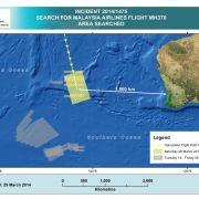 MH370-Wrackteilsuche geht weiter (Foto)