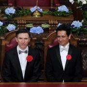 Erste Homo-Ehen in England und Wales geschlossen (Foto)