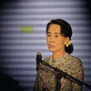 Friedensnobelpreisträgerin Suu Kyi besucht Deutschland (Foto)