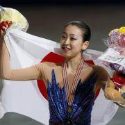 Japans Eis-Star Asada läuft zu drittem WM-Gold (Foto)