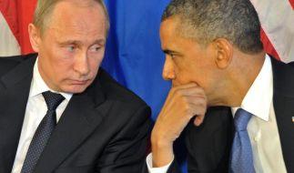 Telefon-Diplomatie zwischen Putin und Obama (Foto)