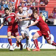 Spätes Tor rettet KSC einen Punkt im Derby gegen FCK (Foto)