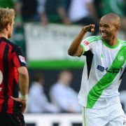 Später Sieg dank Naldo: Wolfsburg schlägt Frankfurt 2:1 (Foto)
