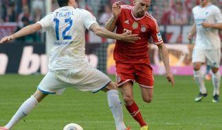 Meister-Bayern nur 3:3 vor Manchester-Spiel (Foto)