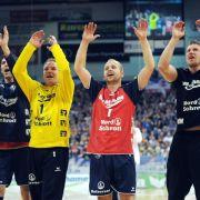 Flensburg zum achten Mal im Viertelfinale (Foto)
