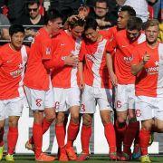 Mainz marschiert Richtung Europa: 3:0 gegen Augsburg (Foto)