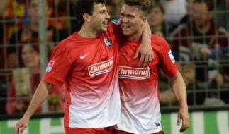 Packender Abstiegskampf: Freiburg schlägt Nürnberg 3:2 (Foto)