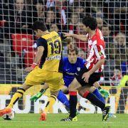 Atletico Madrid weiter Tabellenführer:2:1 inBilbao (Foto)