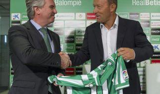 Manuel Dominguez neuer Präsident von Betis Sevilla (Foto)