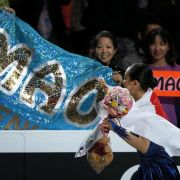 Gescholtene Japanerin Asada glänzt mit drittem Gold (Foto)