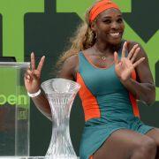 Serena Williams erneut Königin von Key Biscayne (Foto)