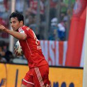 Unverwüstlicher Pizarro: Zwei Tore und Krämpfe (Foto)