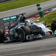 Mercedes-Duo in Malaysia nicht zu stoppen (Foto)