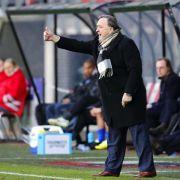 Trainer Dick Advocaat verlässt AZAlkmaar (Foto)