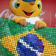 Hallo, ich bin das WM-Maskottchen und heiße: Ar***! (Foto)