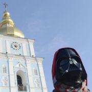 «Darth Vader» will ukrainischer Präsident werden (Foto)