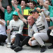 «Verdammt gut»: Mercedes als neue Nummer 1 nach Bahrain (Foto)