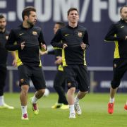 Das Quartett der Diegos:Atlético will Barça stoppen (Foto)
