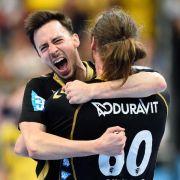 Löwen im Viertelfinale der Champions League (Foto)