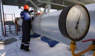 Russland erhöht Gaspreise für Ukraine um rund 44 Prozent (Foto)