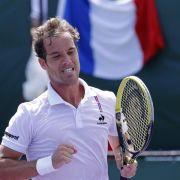 Franzosen noch ohne Davis-Cup-Ersatz für Gasquet (Foto)