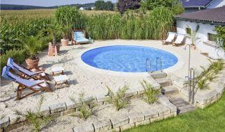 Plätze an der Sonne: Schattenarme Flächen sind ideal für den Pooleinbau. (Foto)