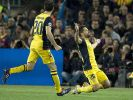 Diego lässt Barca um Halbfinal-Einzug zittern (Foto)