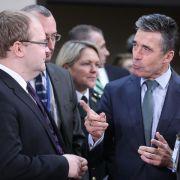 Nato setzt Kooperation mit Russland aus (Foto)