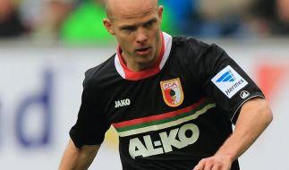 Augenhöhlenriss: Werner fehlt Augsburg rund drei Wochen (Foto)