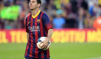 Lionel Messi wird vorerst keine neuen Teamkameraden beim FCBarcelona bekommen. (Foto)