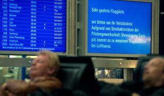 Piloten-Streik legt Lufthansa weitgehend lahm (Foto)