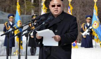 Nordkoreas Machthaber will US-Politik «zerschmettern» (Foto)
