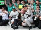 Wird Mercedes auch im dritten Saisonrennen der Formel 1 2014 jubeln? Wir zeigen, wie Sie den Großen Preis von Bahrain im kostenlosen Live-Stream bei RTL Inside und im TV (RTL/Sky/Sport1) live mitverfolgen können. (Foto)
