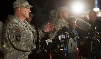 Alarm in Fort Hood: Drei Menschen und sich selbst hat der Amokläufer in der Nacht erschossen. (Foto)