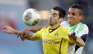 Rassiges Duell: Das Spiel zwischen Borussia Dortmund und dem VfL Wolfsburg ist der Höhepunkt des 29. Spieltags. (Foto)