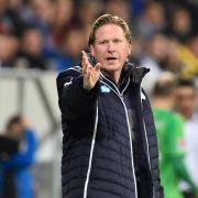 Hoffenheims Trainer Gisdol für Timeout im Fußball (Foto)