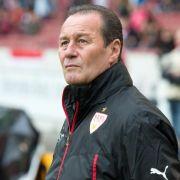 VfB-Trainer Stevens:Normales Spiel gegen SCF (Foto)