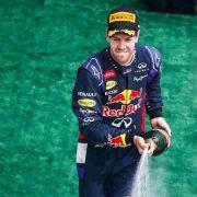 Vettels Lust auf Rosenwasser (Foto)