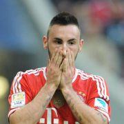 Linksverteidiger Contento fehlt den Bayern vorerst (Foto)