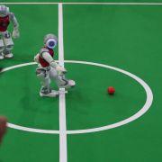 Meisterschaften - Ein Roboter zum Fußballspielen (Foto)