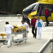Drama pur! Flugzeugabsturz im Gebirge (Foto)