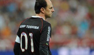 Brasiliens Torwart-Legende Ceni will noch 2014 aufhören (Foto)